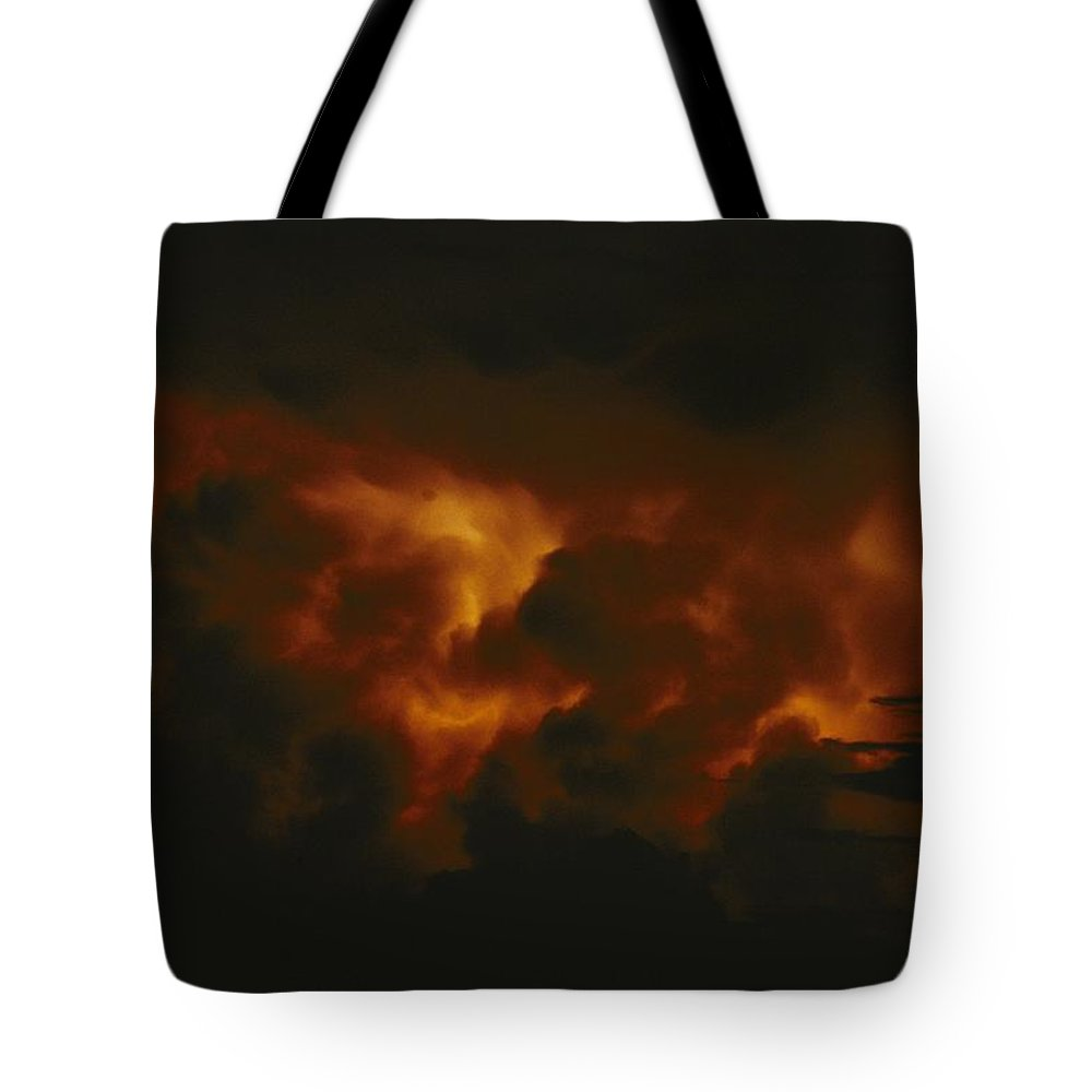 lake Tanganyika Tote Bag featuring the photograph Storm Clouds Over Lake Tanganyika by Michael Nichols