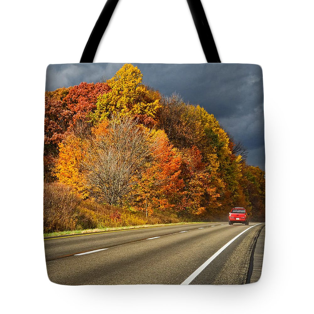 United States Of America Tote Bag featuring the photograph Stormin' Through Pennsylvania 2 by Steve Harrington