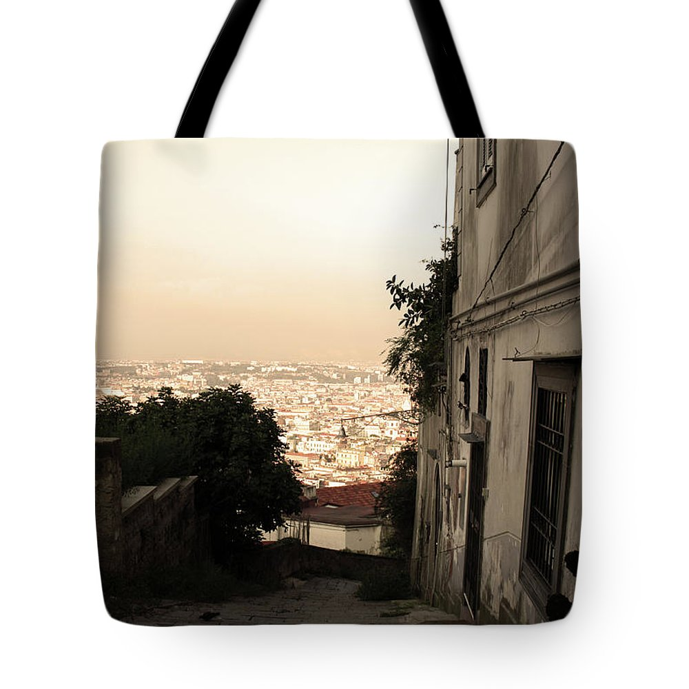 Italy Tote Bag featuring the photograph Strada Bella by La Dolce Vita