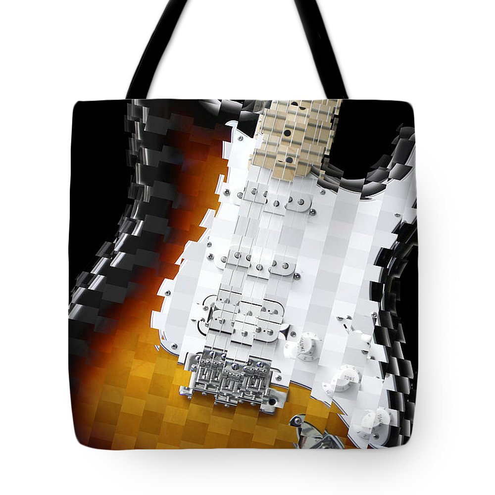 Abstract Guitar Tote Bag featuring the photograph Classic Guitar Abstract 2 by Mike McGlothlen