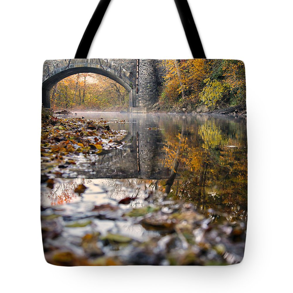 Creek Tote Bag featuring the photograph Virginia by Mitch Cat