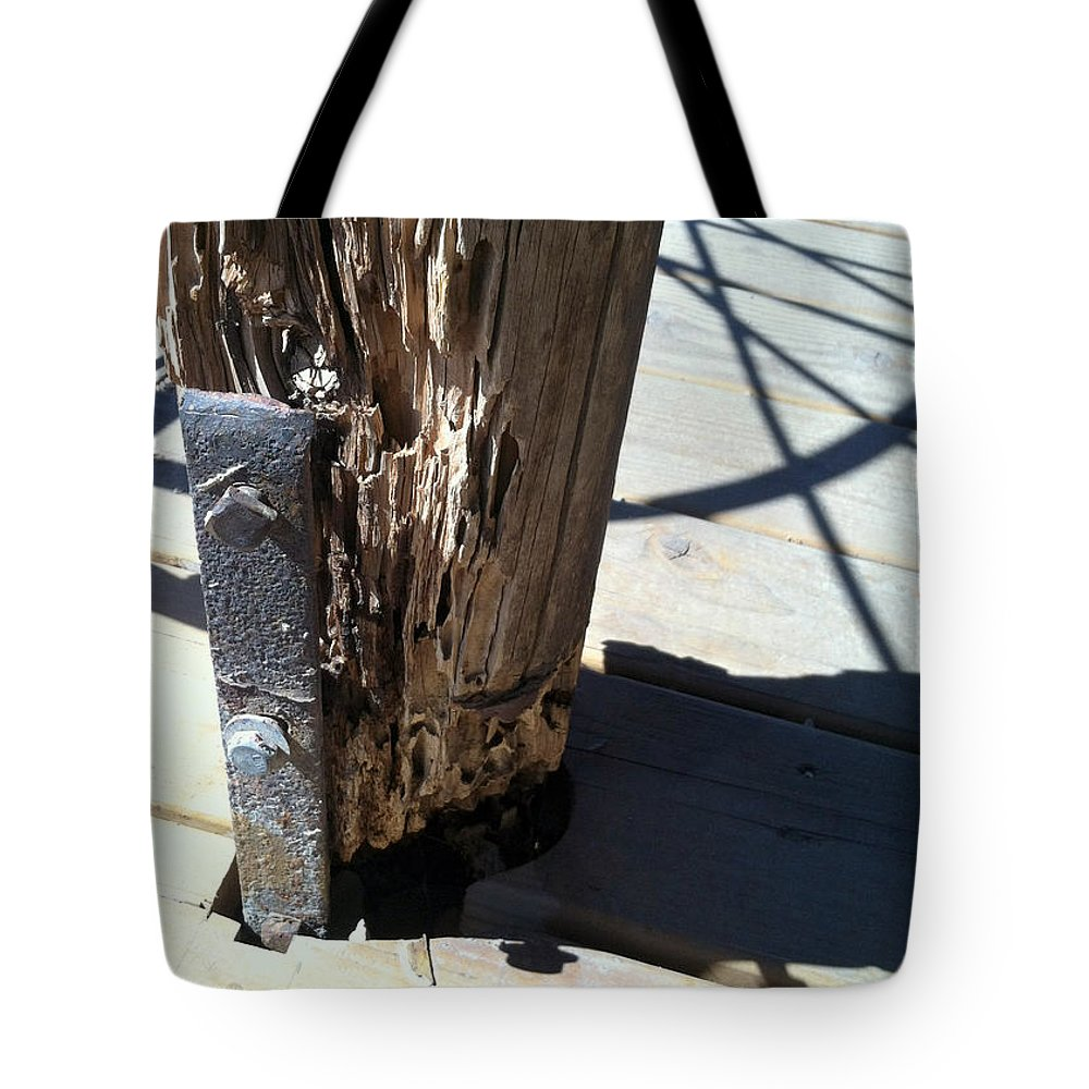 Tombstone Tote Bag featuring the photograph Streets Of Tombstone 13 by Marlene Burns