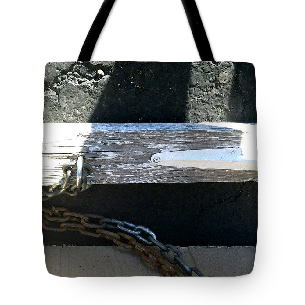 Marlene Burns Tote Bag featuring the photograph Streets Of Tucson 156 by Marlene Burns