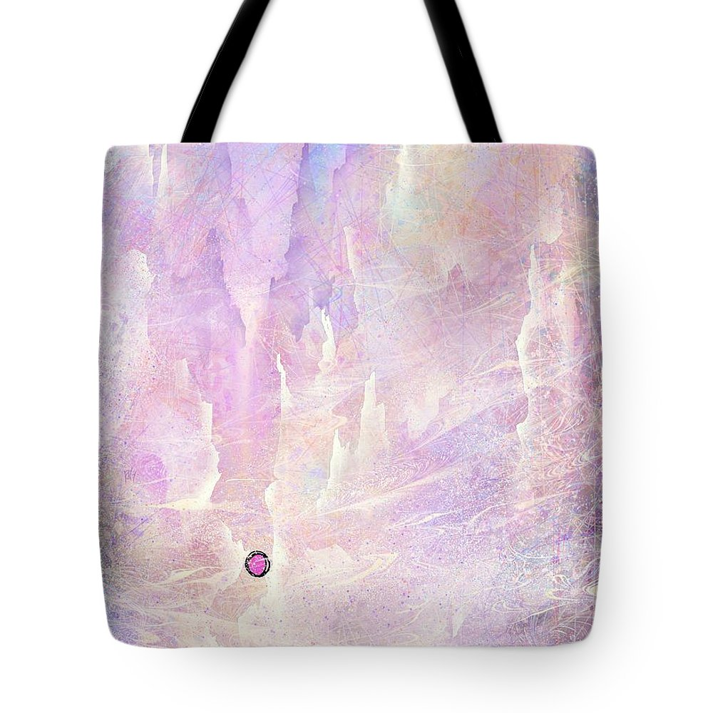 Landscape Tote Bag featuring the digital art Stuck in a moment of time by William Russell Nowicki