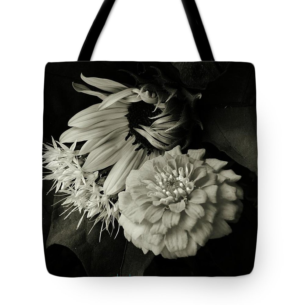 Sunflower Tote Bag featuring the photograph Summer by Chris Berry