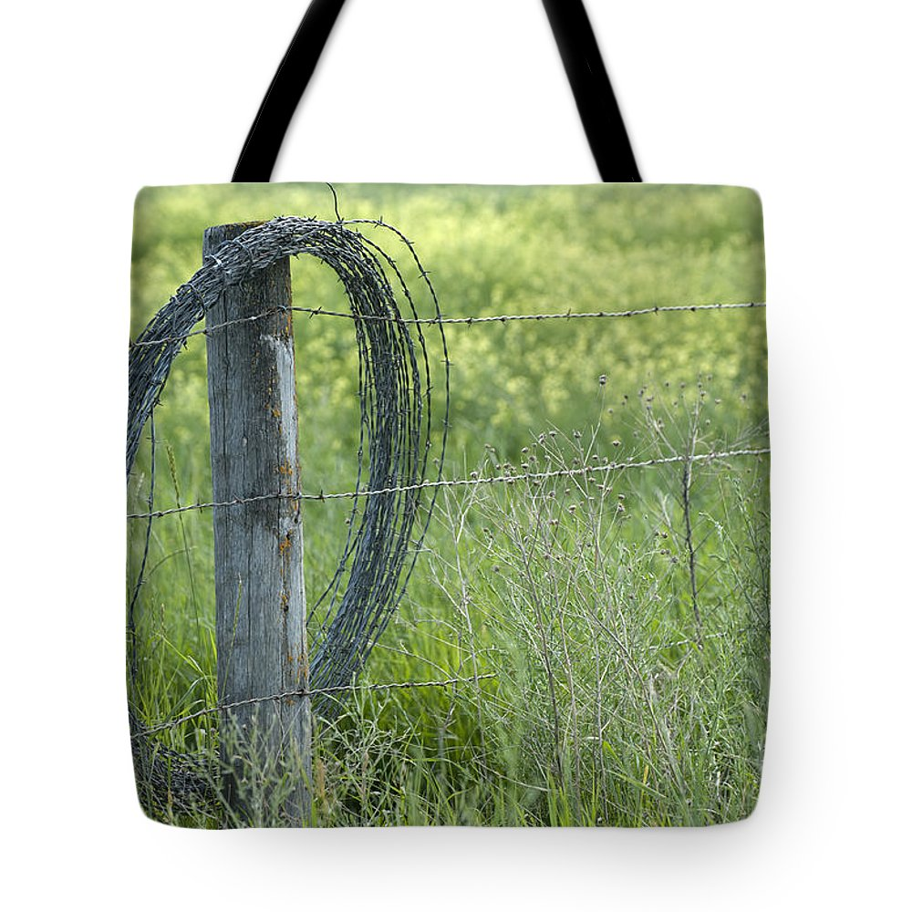 Bronstein Tote Bag featuring the photograph Summer Repairs by Sandra Bronstein