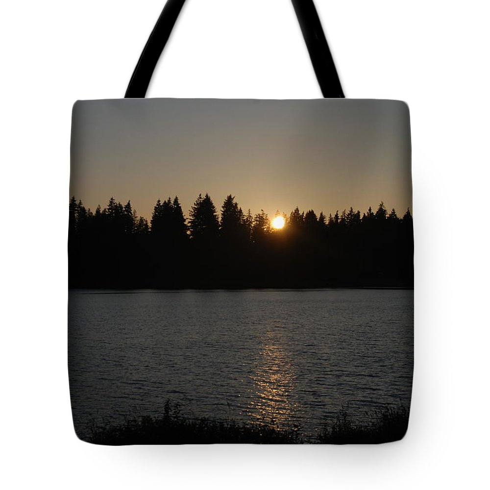 Summer Tote Bag featuring the photograph Summer Sunset by Michael Merry