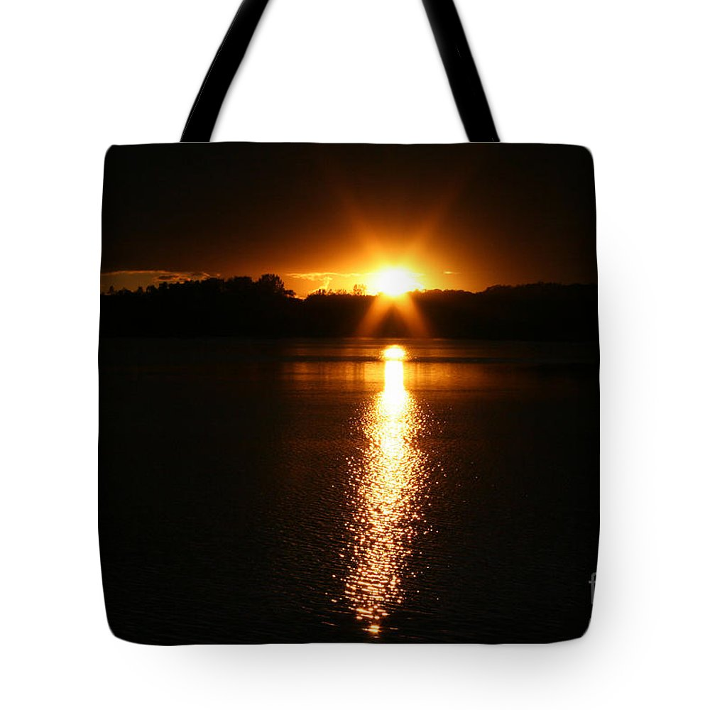 Tote Bag featuring the photograph Sun Ray by Susan Herber