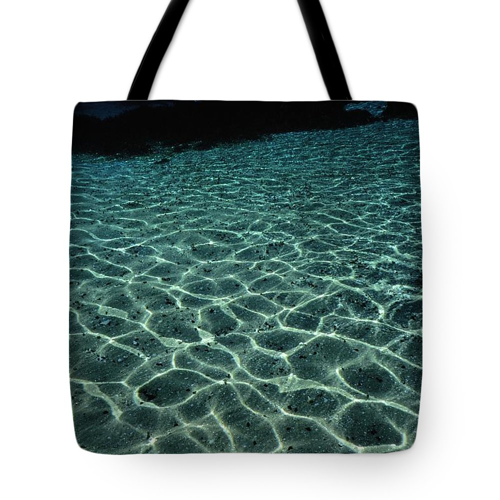 united States Tote Bag featuring the photograph Sunlight Reflected In The Water by Raymond Gehman
