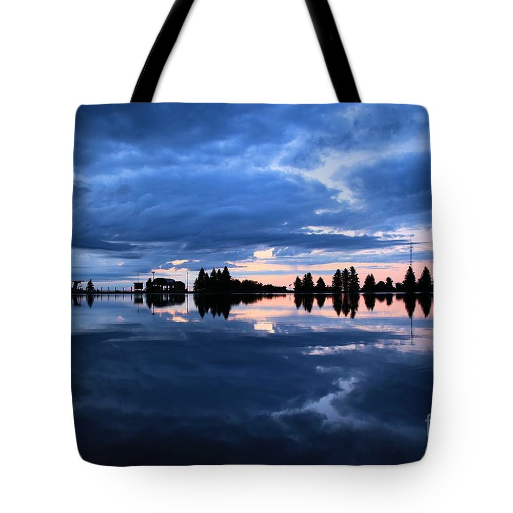 Sunrise Photos Tote Bag featuring the photograph Sunrise At Lake Tahoe by Adam Jewell