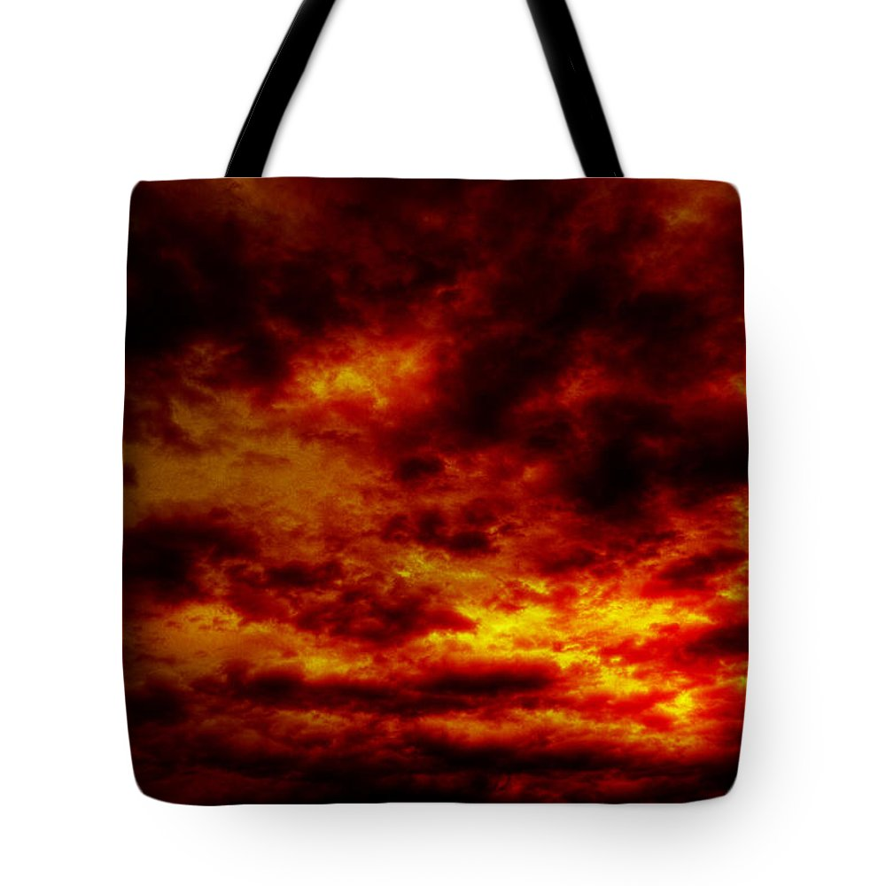 Acrylic Prints Tote Bag featuring the photograph Sunset by John Herzog