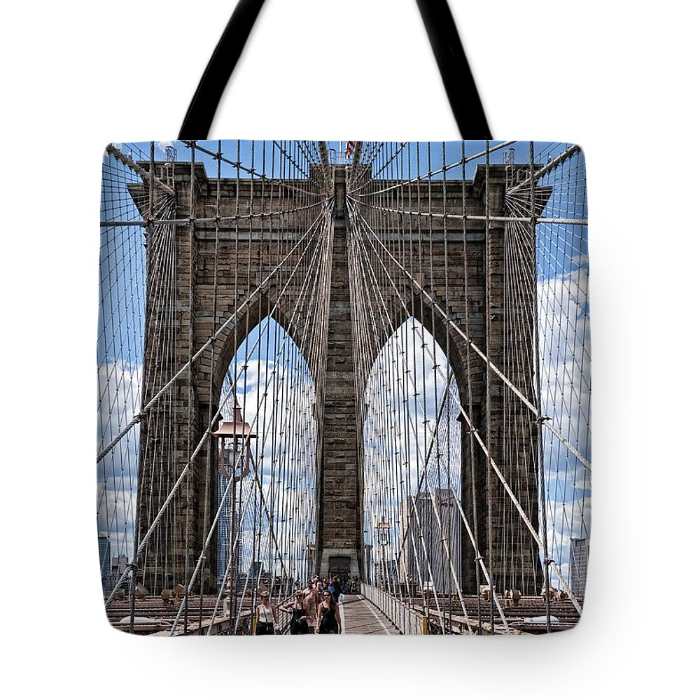 Nyc Tote Bag featuring the photograph Suspended Animation by S Paul Sahm