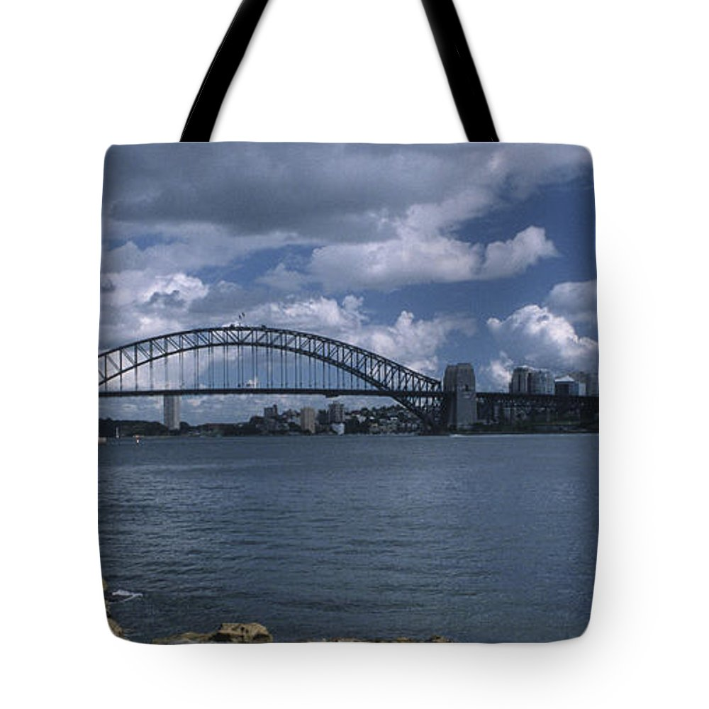 Sandra Bronstein Tote Bag featuring the photograph Sydney Harbor Australia by Sandra Bronstein