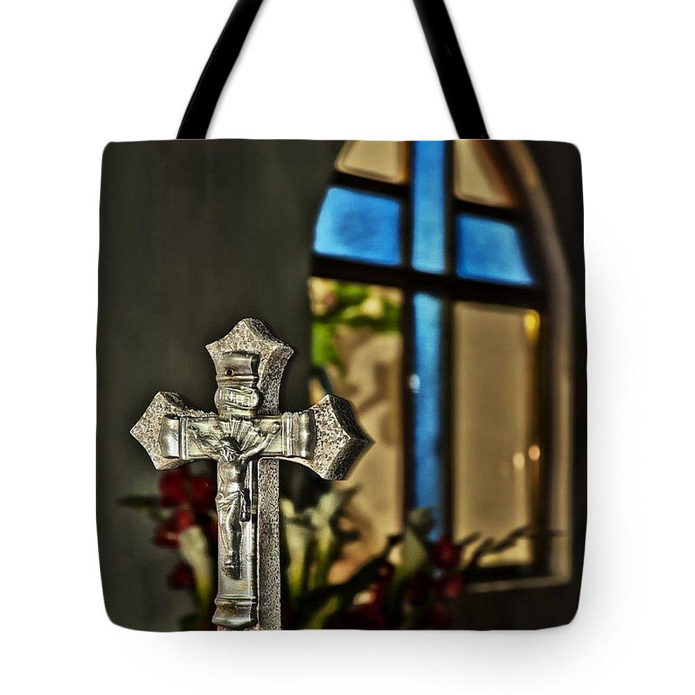 Dia De Muertos Tote Bag featuring the photograph Symbols by Javier Barras