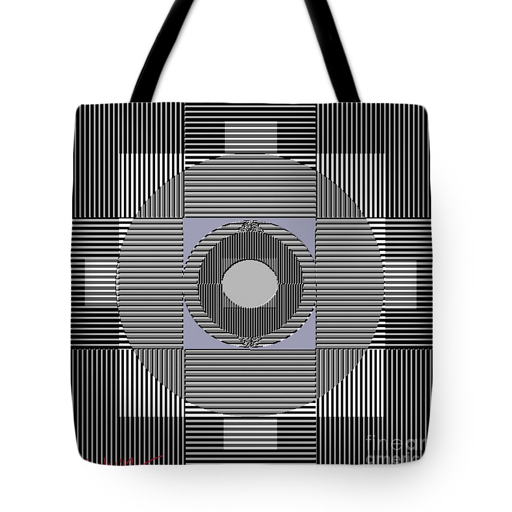Paintings Tote Bag featuring the painting Tectural 155 by Nedunseralathan R