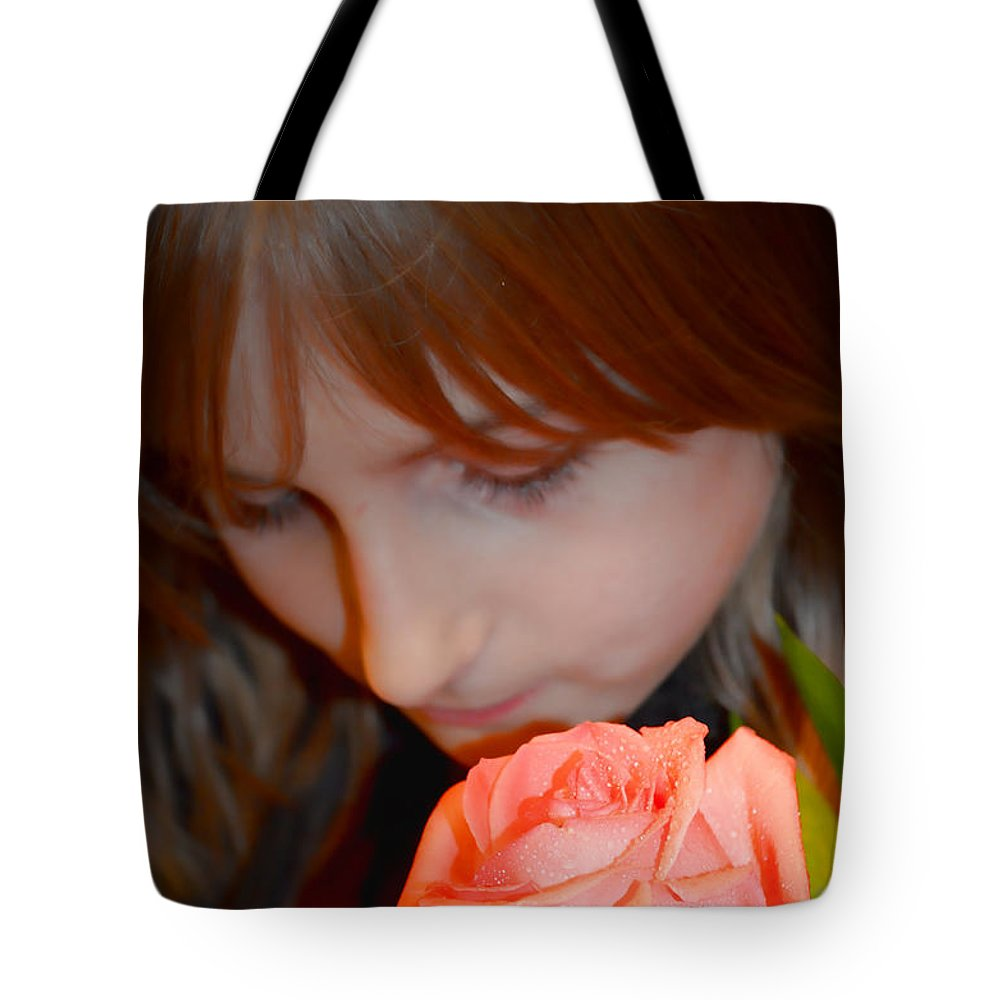 People Tote Bag featuring the photograph Tender Moments by Debbie Portwood