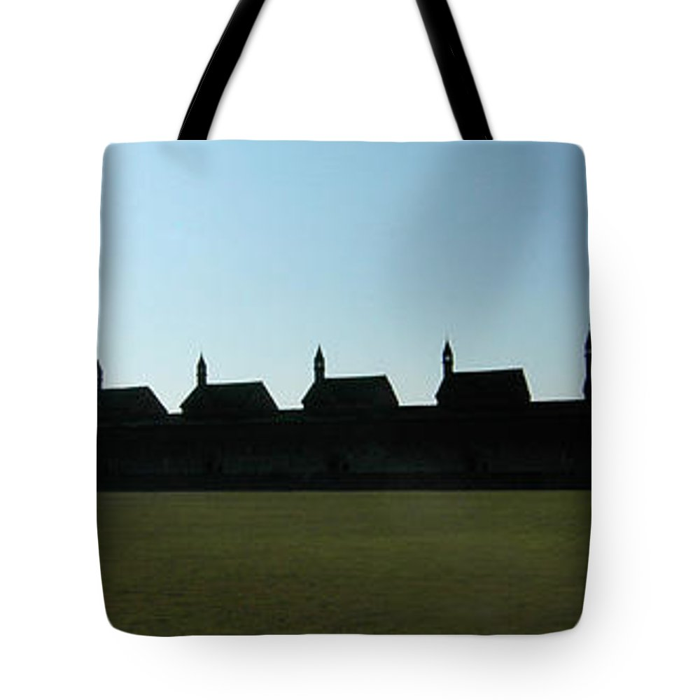 Abbey Tote Bag featuring the photograph The Abbey by Mike Nellums