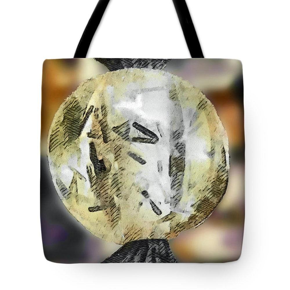 Letters Tote Bag featuring the photograph The Alphabet Ball by Steve Taylor