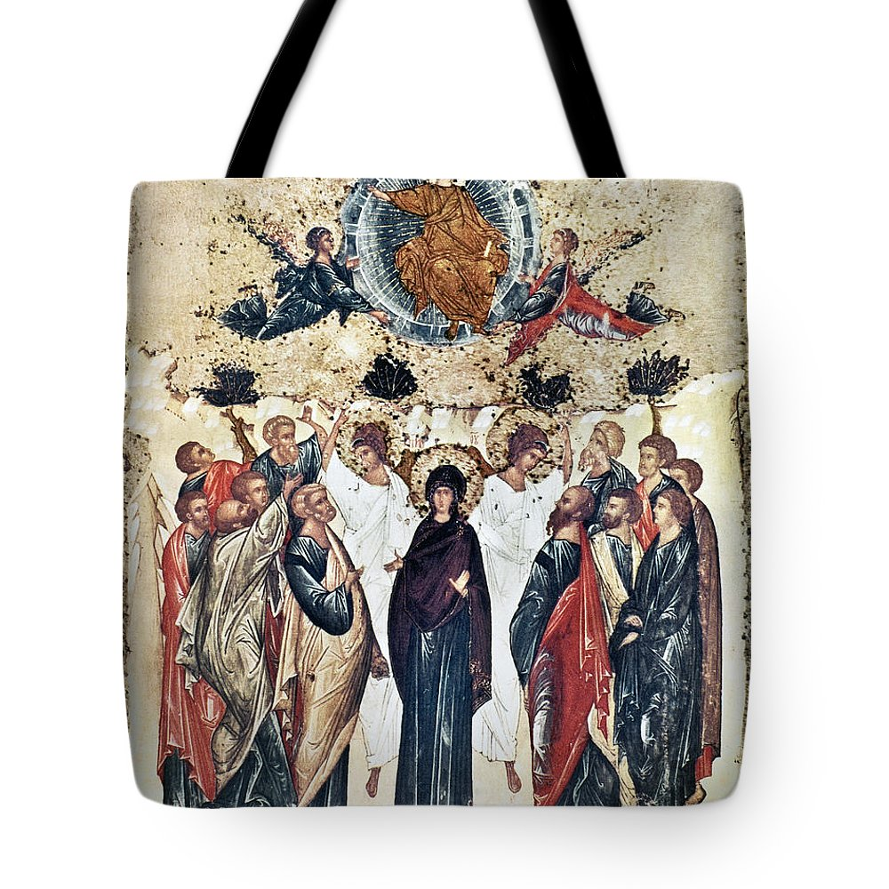 15th Century Tote Bag featuring the photograph The Ascension by Granger