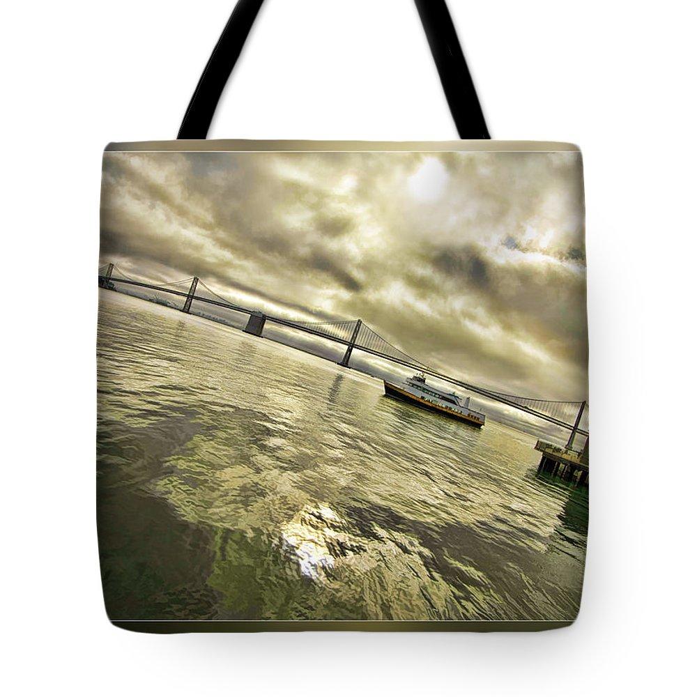 Bay Bridge Tote Bag featuring the photograph The Bay Bridge Cruz by Blake Richards