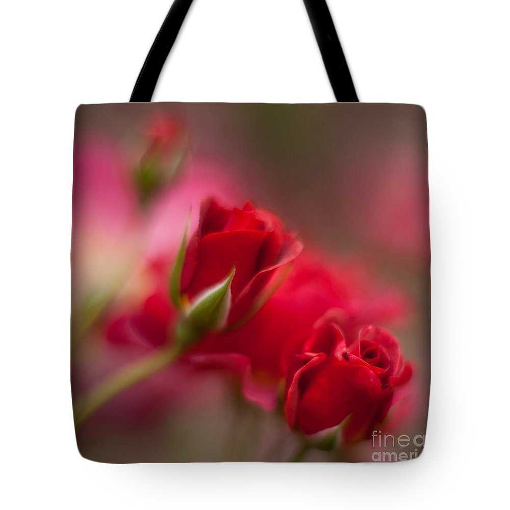 Rose Tote Bag featuring the photograph The Beauty by Mike Reid