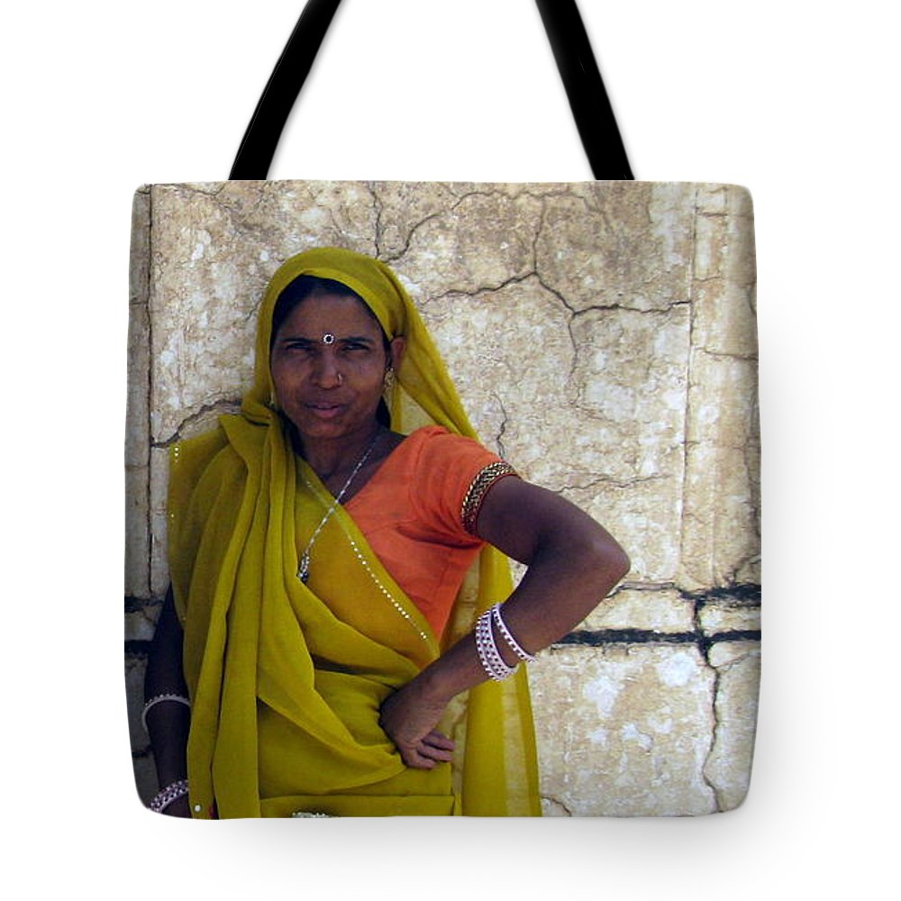 Female Tote Bag featuring the photograph The Caretaker by Paul Ward