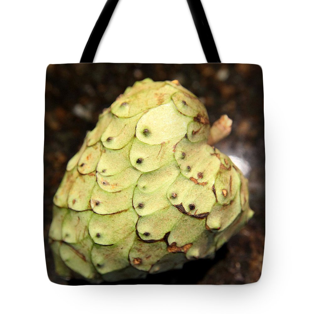 Food Tote Bag featuring the photograph The Cherimoya by Portraits By NC