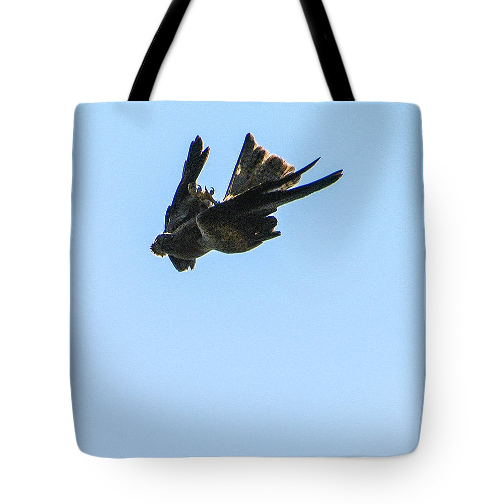 Action Tote Bag featuring the photograph The Clash 2 by Alistair Lyne