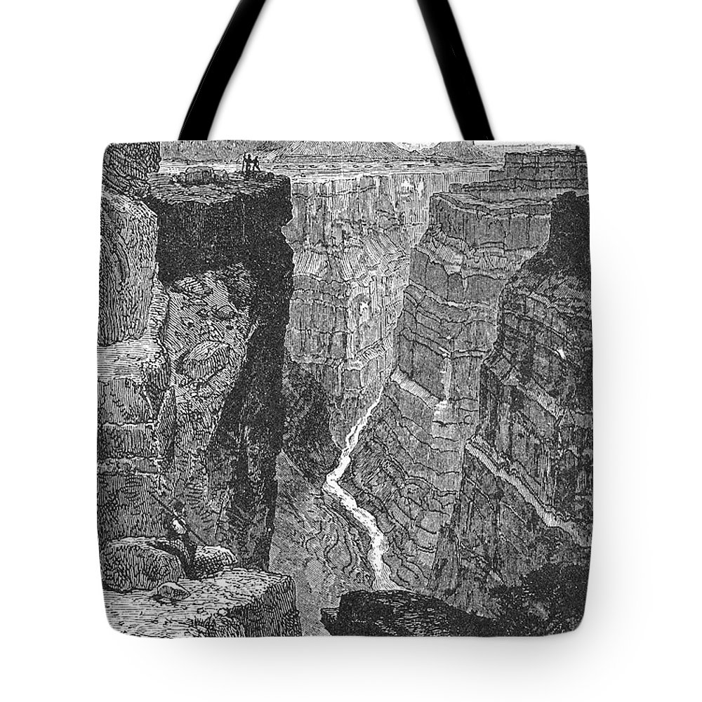 19th Century Tote Bag featuring the photograph The Colorado River by Granger