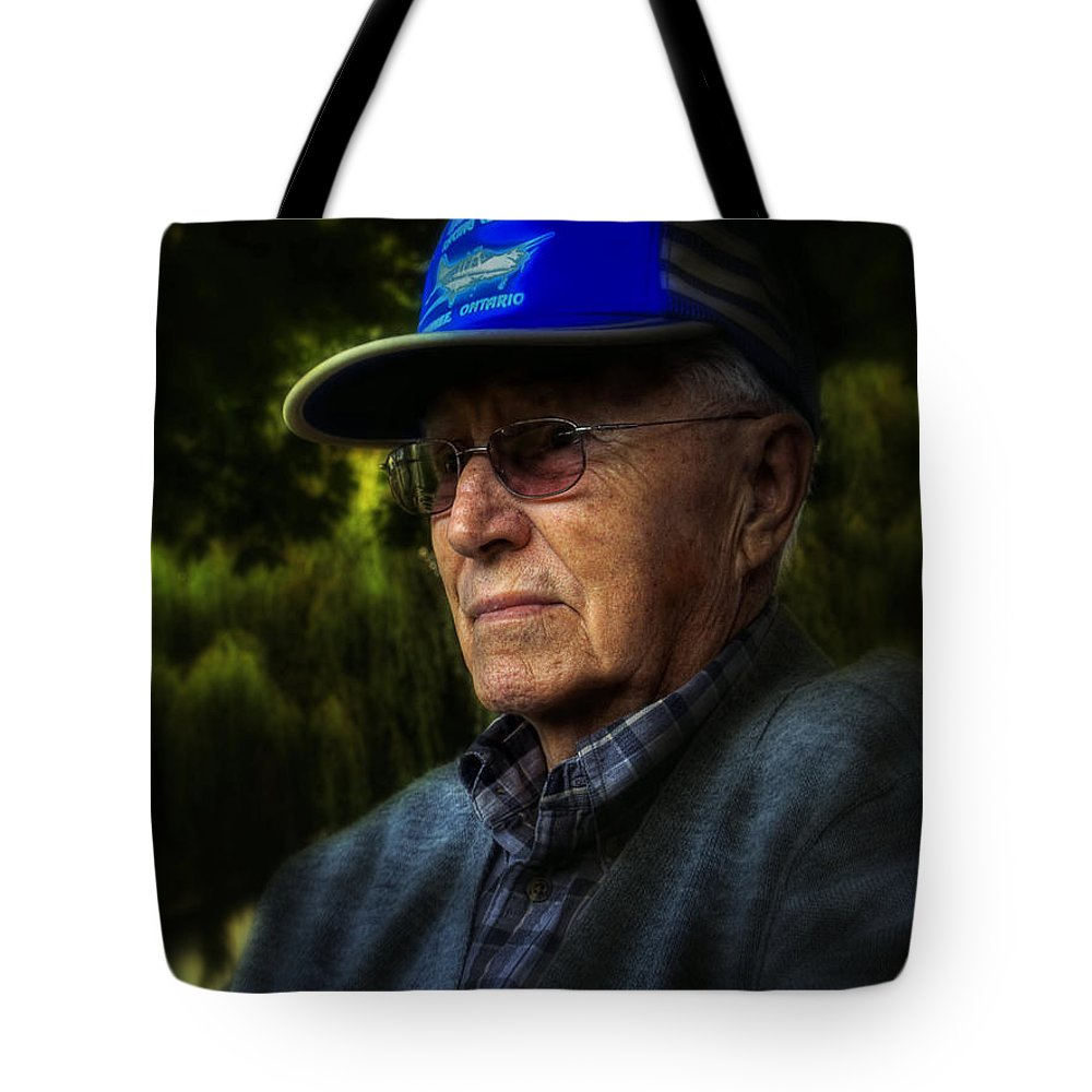 Tote Bag featuring the photograph The Don Retired A.k.a. Va3wm by John Herzog