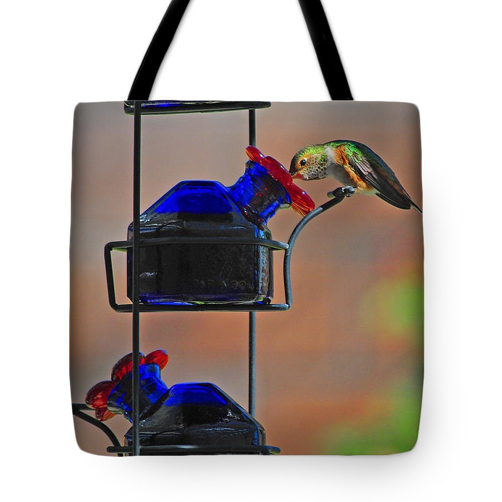 Hummer Tote Bag featuring the photograph The Drink by Lynn Bauer
