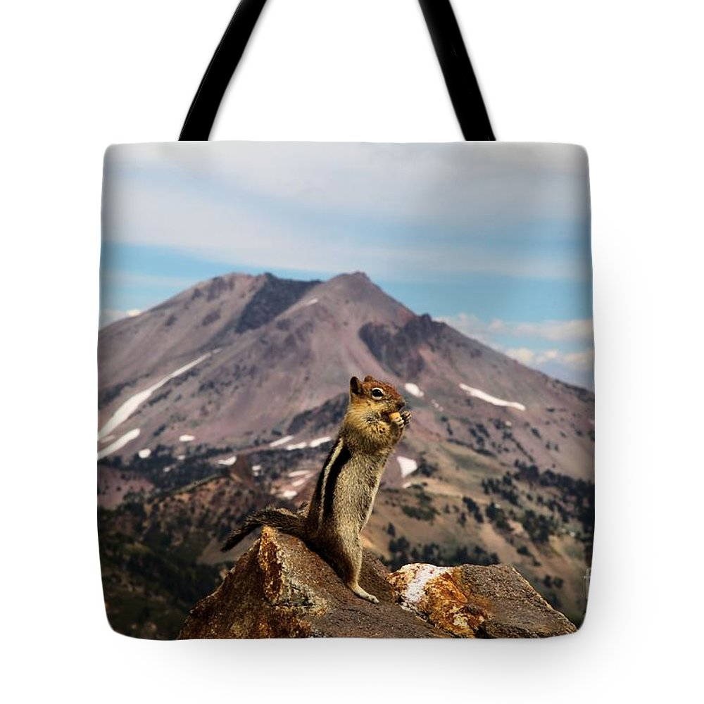 Lassen Volcanic National Park Tote Bag featuring the photograph The Edge Of Glory by Adam Jewell