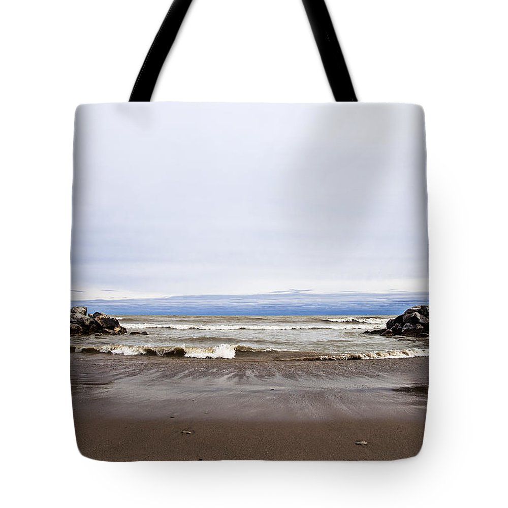Www.cjschmit.com Tote Bag featuring the photograph The Edge Of Mother Nature by CJ Schmit