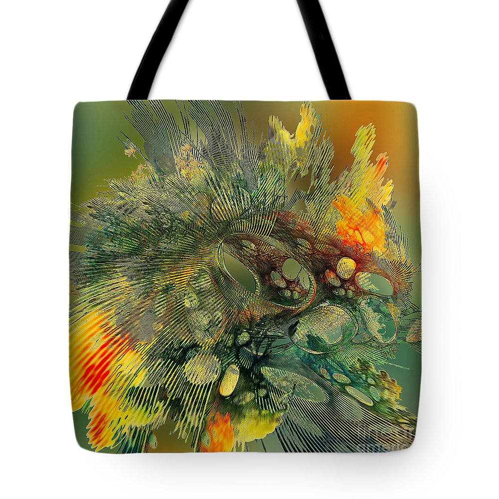 Autumn Tote Bag featuring the digital art The Flavor Of Autumn by Klara Acel