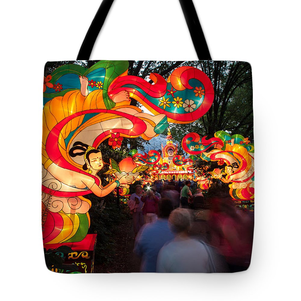 Art Tote Bag featuring the photograph The Flying Apsaras by Semmick Photo
