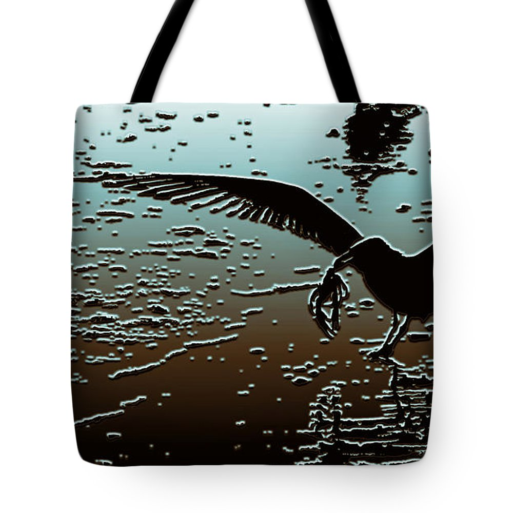 Food Chain Tote Bag featuring the photograph The Food Chain by Jeff Breiman
