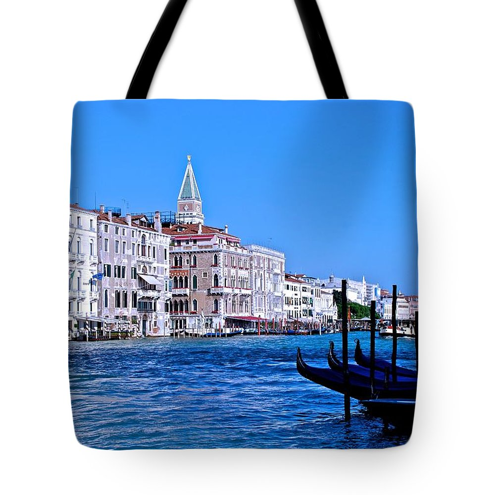 Venice Tote Bag featuring the photograph The Grand Of Venice by Eric Tressler