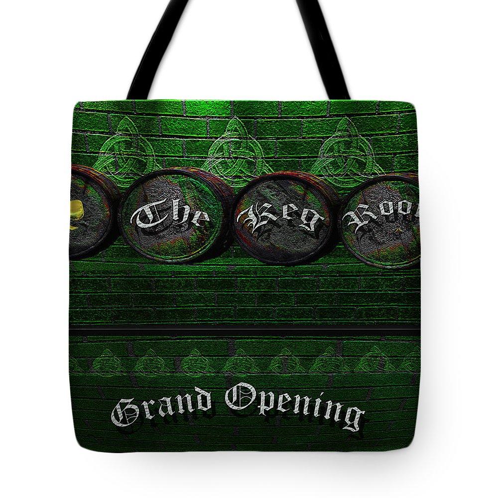Tote Bag featuring the photograph The Keg Room Grand Opening Version 3 by LeeAnn McLaneGoetz McLaneGoetzStudioLLCcom