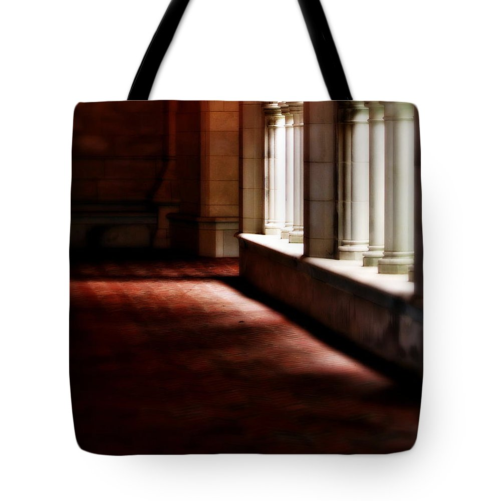 Trinity College Tote Bag featuring the photograph The Light by Marysue Ryan