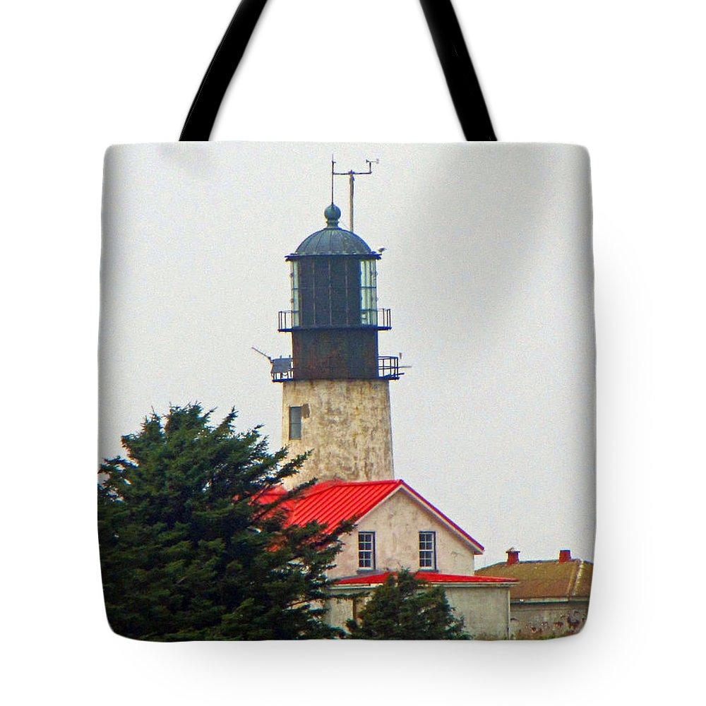 Cape Flattery Tote Bag featuring the photograph The Lighthouse Of Tatoosh by Tikvah's Hope