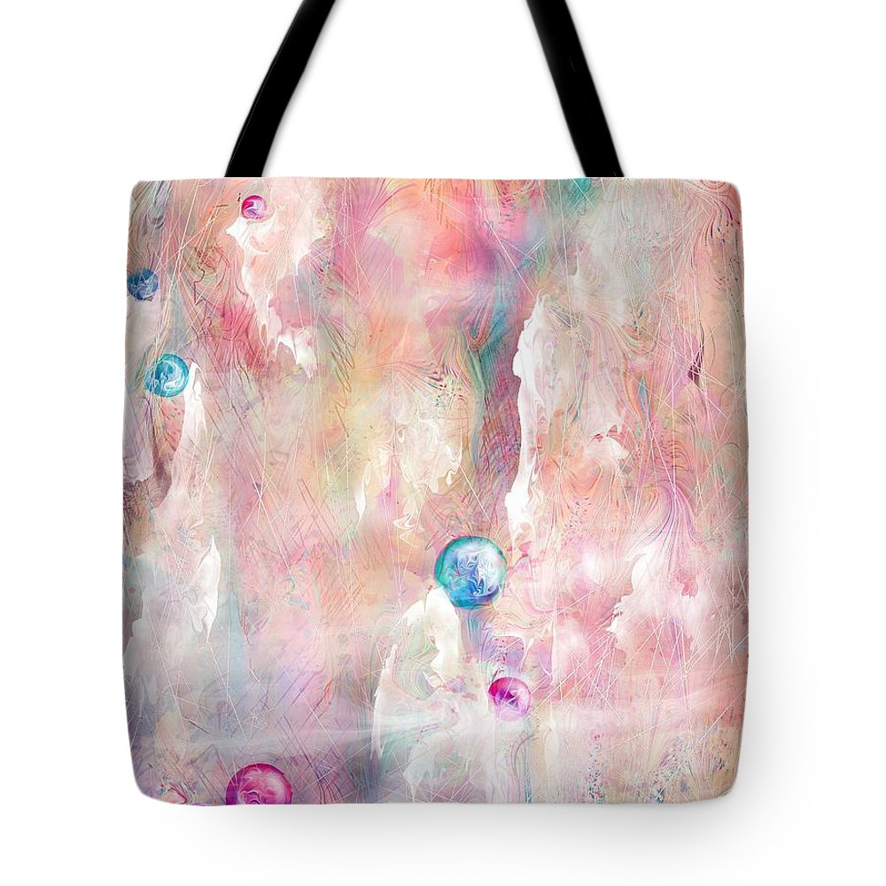 Landscape Tote Bag featuring the painting The Lost Marbles by William Russell Nowicki