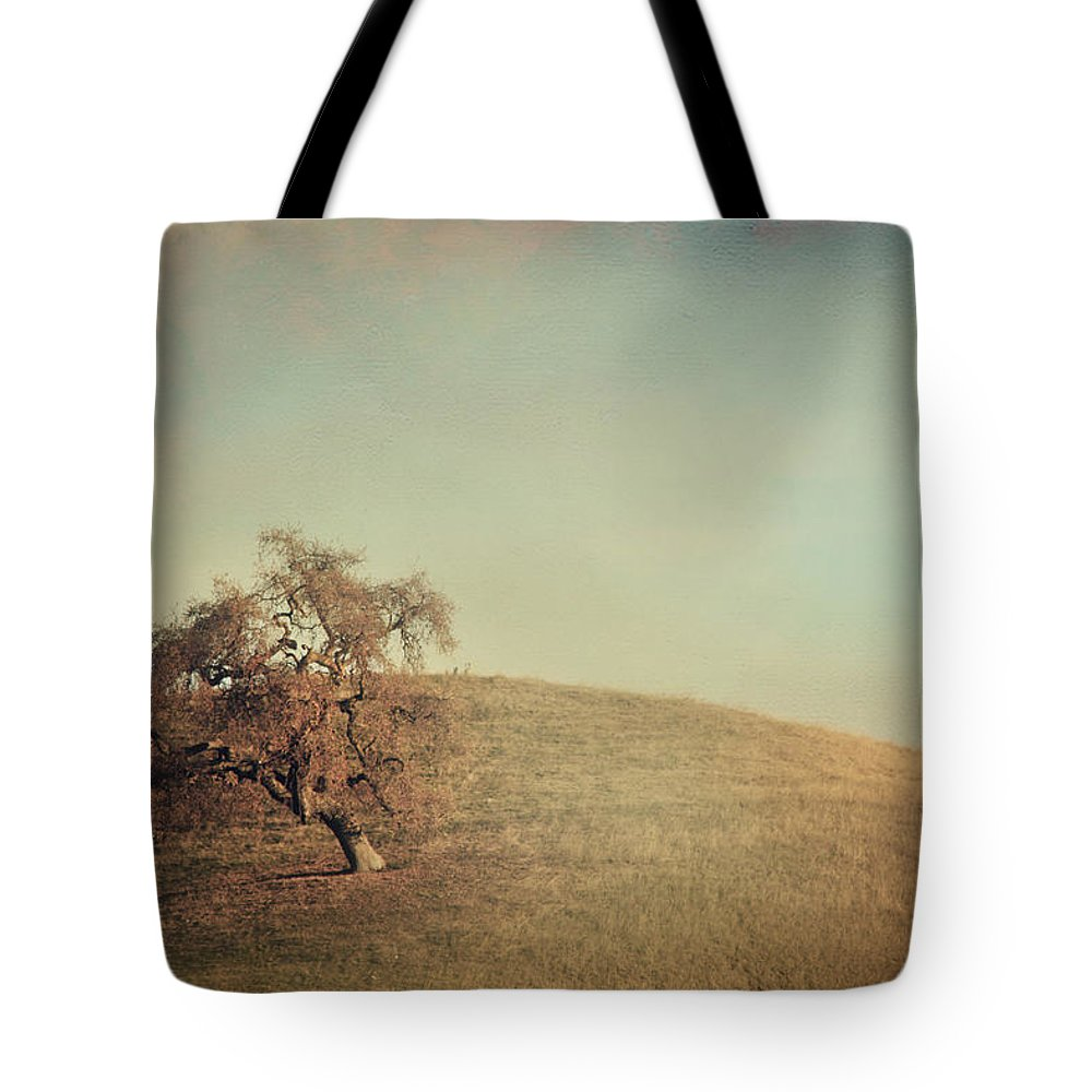Landscape Tote Bag featuring the photograph The Neverending Loneliness by Laurie Search