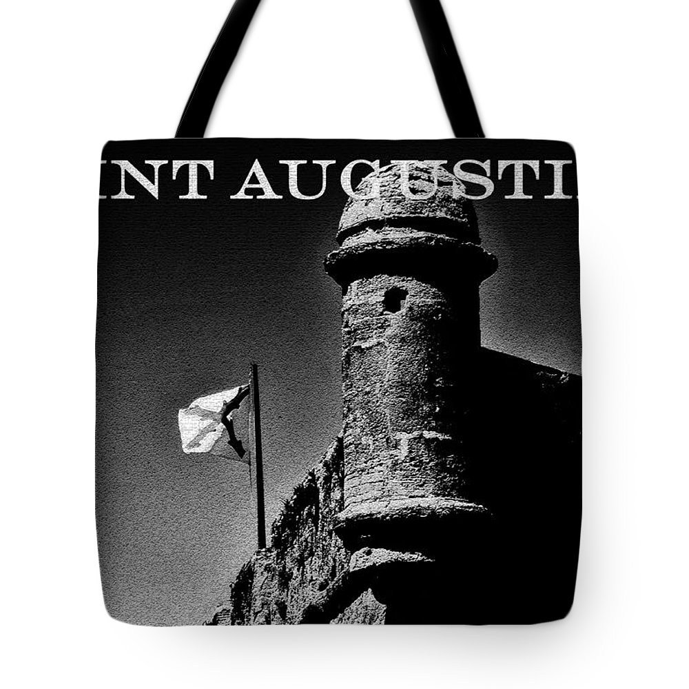 Fine Art Photography Tote Bag featuring the photograph The Old Fort by David Lee Thompson