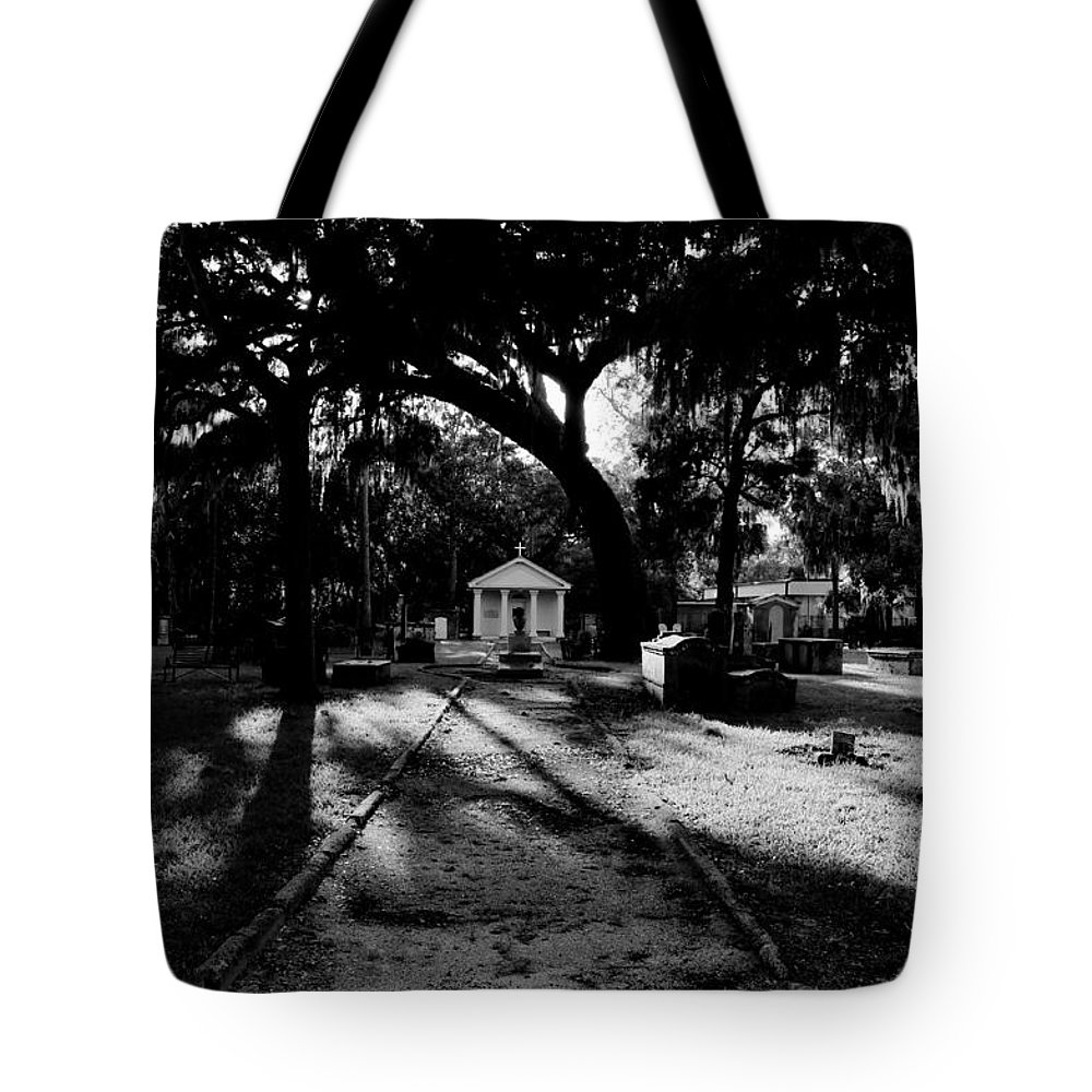 Fine Art Photography Tote Bag featuring the photograph The Old Road To Eternity by David Lee Thompson