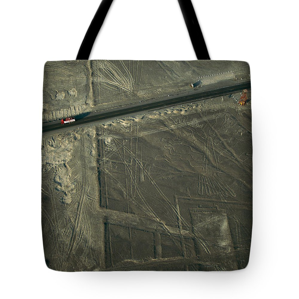 South America Tote Bag featuring the photograph The Pan-american Highway Cuts by Joel Sartore