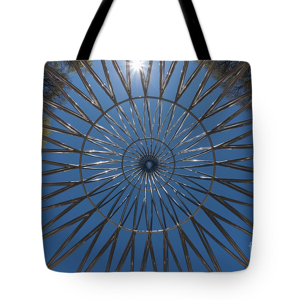 Clarence Holmes Tote Bag featuring the photograph The Rising IIi by Clarence Holmes