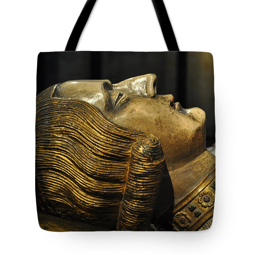 Tomb Tote Bag featuring the photograph The Royal Tomb Of Count Gerard Van Gelder Iv by Mary Machare