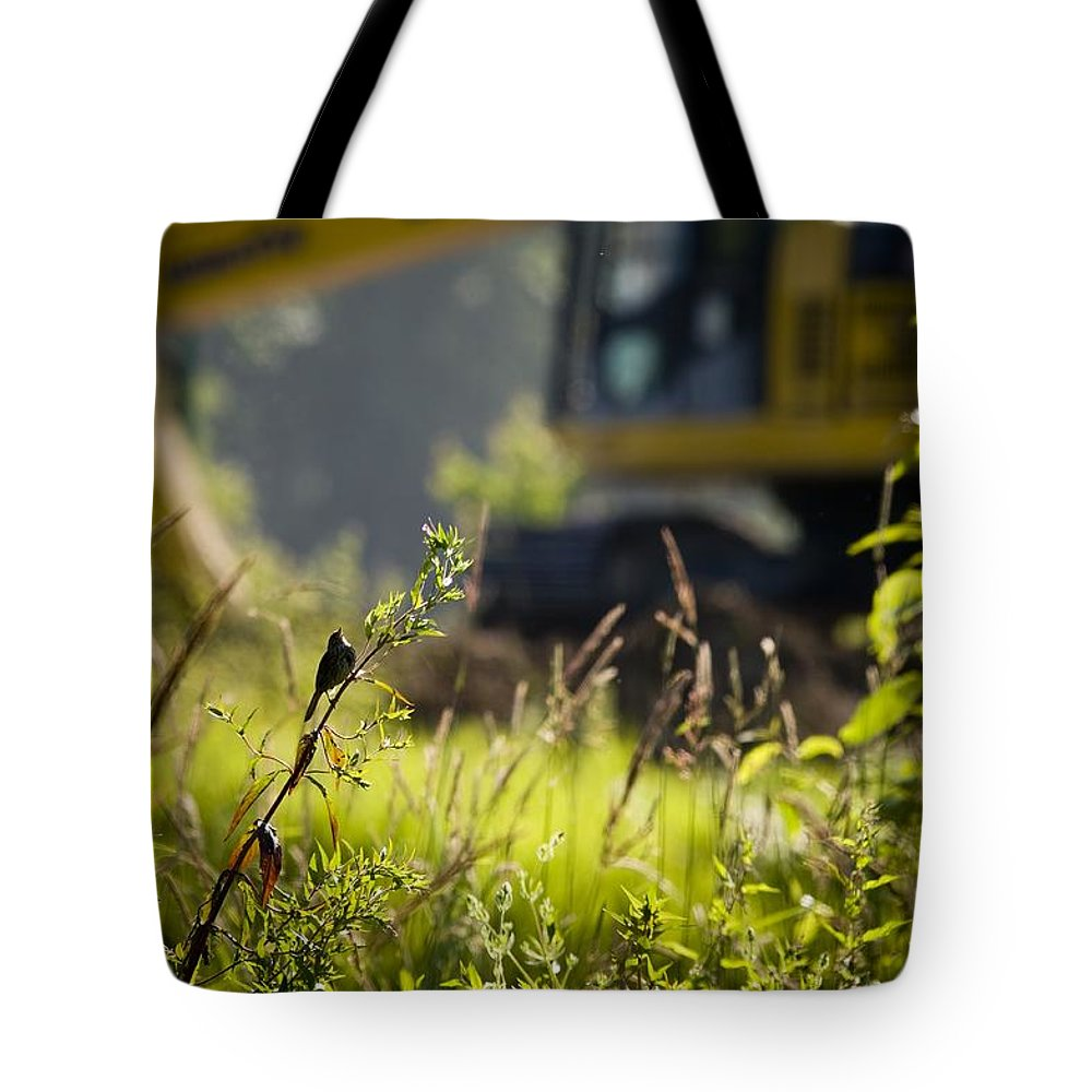 Bird Tote Bag featuring the photograph The Song Of Loss by Martin Cooper