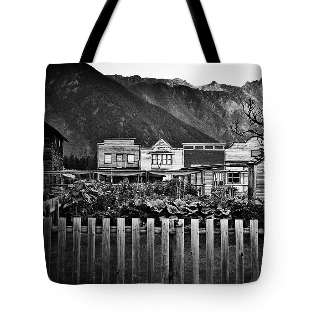 Window Tote Bag featuring the photograph The Town by The Artist Project