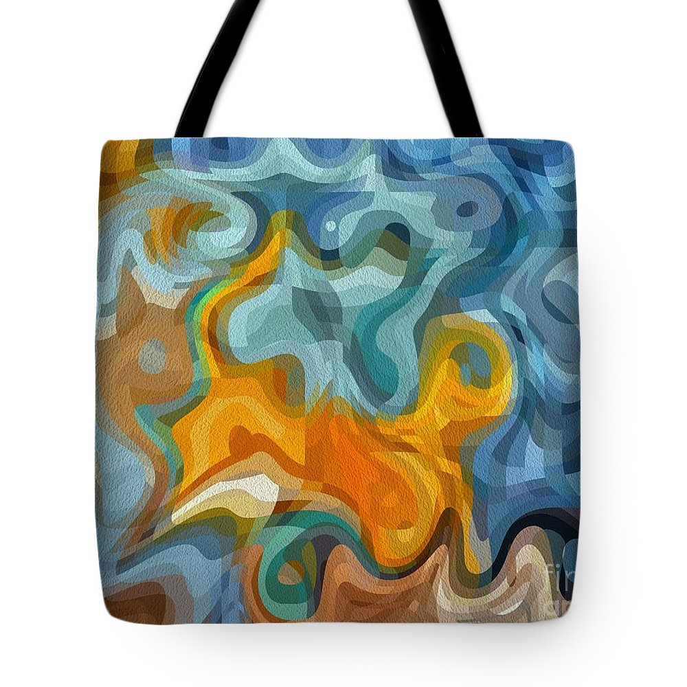 Walk Tote Bag featuring the photograph The Walk by Michael Garyet